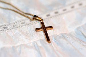 златен кръст - кръщене