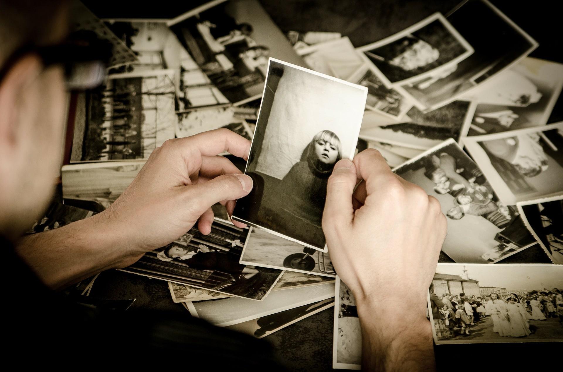 история чрез снимка