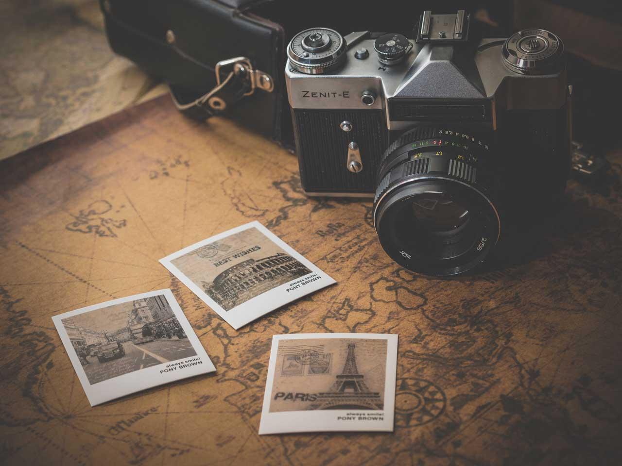 история на фотографията