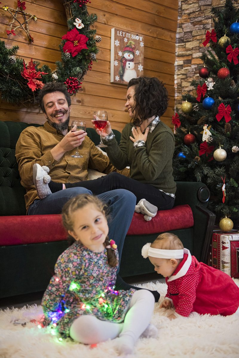 Коледна фотосесия 2019